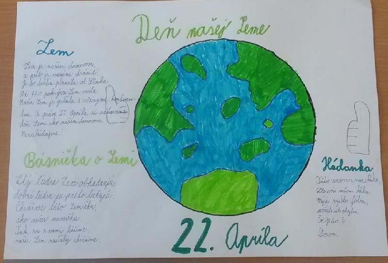 Práve prezeráte fotografiu z galérie: FOTO: Deň Zeme v našej škole