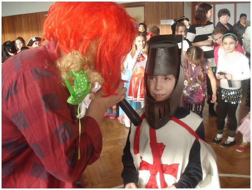 Práve prezeráte fotografiu z galérie: Karneval v ŠKD
