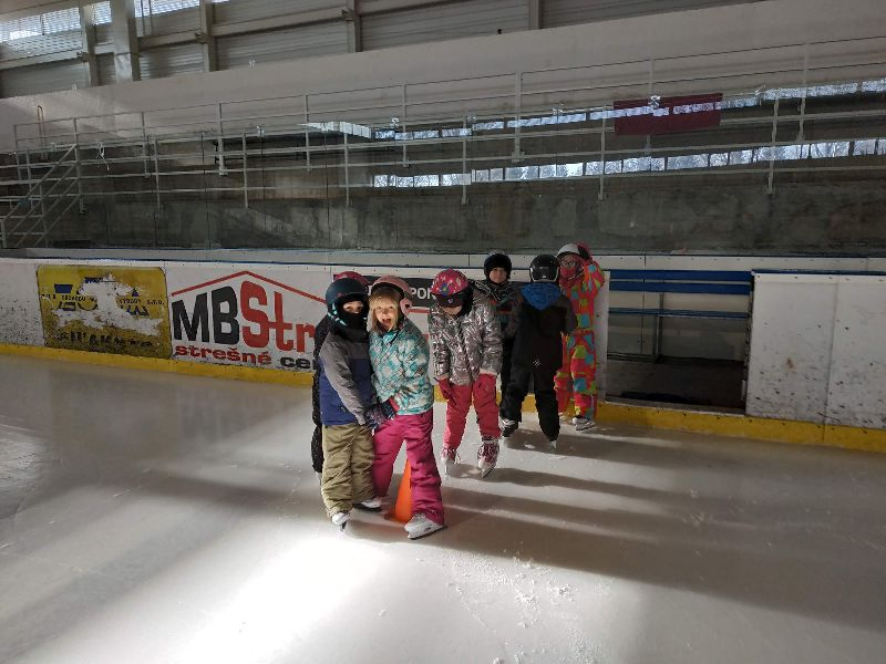 Práve prezeráte fotografiu z galérie: Vyhodnotenie korčuliarskeho výcviku
