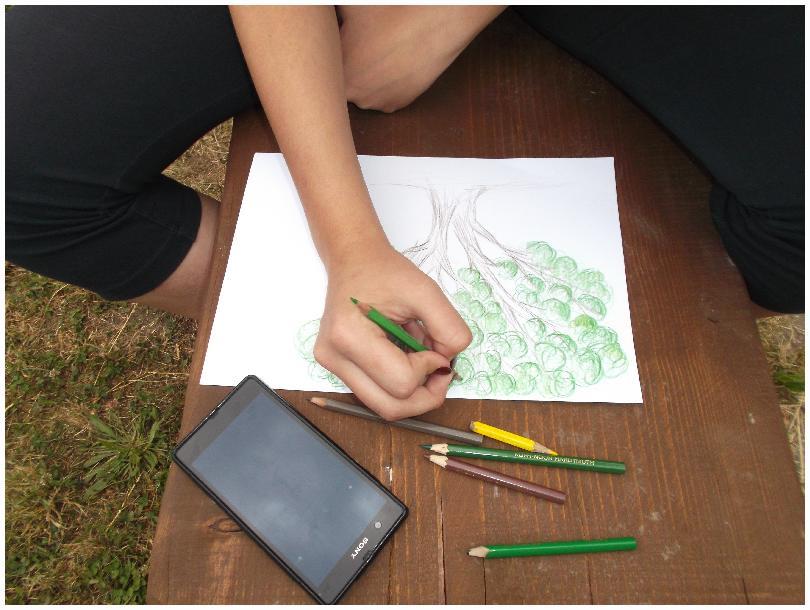 Práve prezeráte fotografiu z galérie: Učíme sa v prírode aj po anglicky