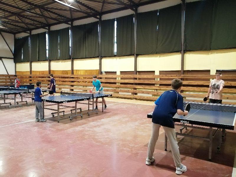Práve prezeráte fotografiu z galérie: Turnaj v stolnom tenise žiakov a žiačok ZŠ