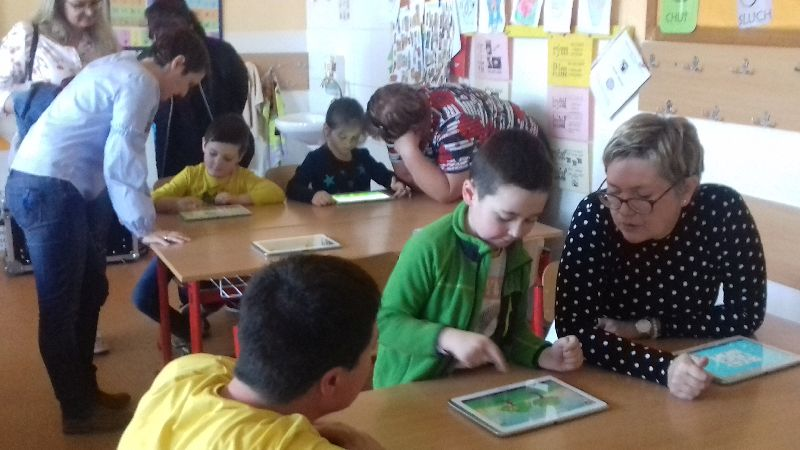 Práve prezeráte fotografiu z galérie: Zábavné popoludnie na našej škole