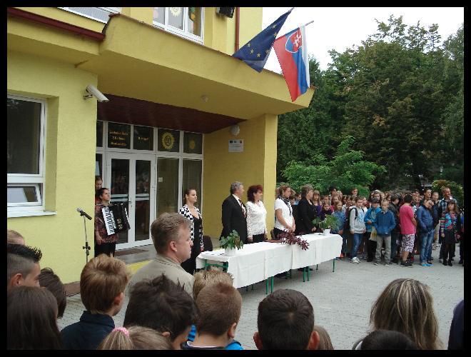 Práve prezeráte fotografiu z galérie: Začiatok školského roka 2014/2015